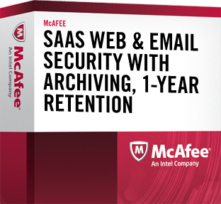 SaaS Web & Email Security with Archiving (1 Yr)