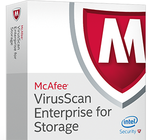 McAfee VirusScan Enterprise for Storage