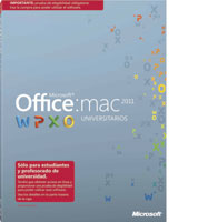 Office para Mac Universitarios 2011