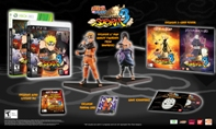 PS3 NARUTO SHIPPUDEN: UN STORM 3 exclusive offer w/ Figurines