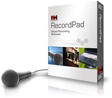 RecordPad Sound Recording Software