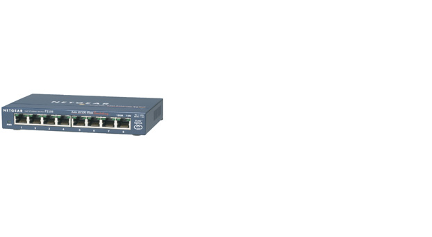 ProSafe™ 8 Port 10/100 Desktop Switch