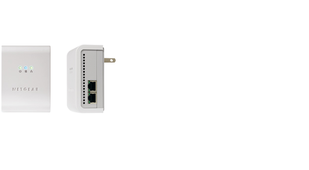 85 Mbps Powerline Ethernet Switch Kit