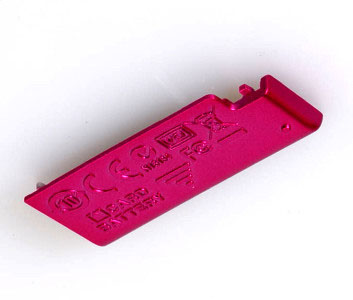 S6200 Battery Cover Unit Pink