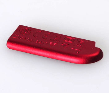 S4100 Battery Cover Unit Red