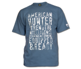 American Hunter T-Shirt-Indigo Blue