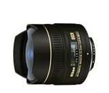 AF DX Fisheye-NIKKOR 10.5mm f/2.8G ED (Refurbished)