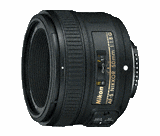 AF-S NIKKOR 50mm f/1.8G (Refurbished)