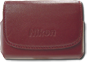 COOLPIX Burgundy Leather Case (Refurbished)