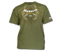 Monarch Gothic T-Shirt-Military Green Medium