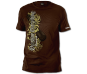 Outshine Everything T-Shirt - Brown