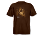 Nikon Antler Tee Brown