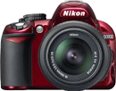 D3100 Red (Refurbished)