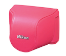CB-N2000SD Pink Leather Body Case Set