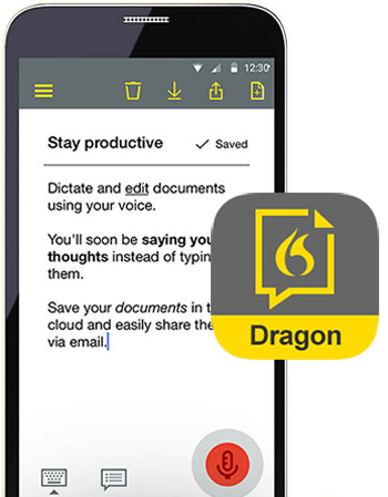 Dragon Anywhere for Android and iOS (US and Canada Only)