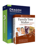 Dragon NaturallySpeaking Premium 12 with Family Tree Maker Workshop 2