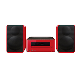 CS-265(R) Colibrino CD Hi-Fi Mini System with Bluetooth (Red)