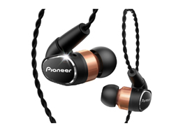 SE-CH9K Premium In-Ear Hi-Res Audio Headphones (Black)