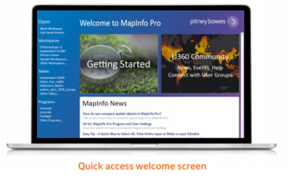 MapInfo Pro™ v17.0 English Advanced Premium Services Edition
