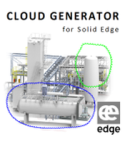 Solid Edge AEC Cloud Generator