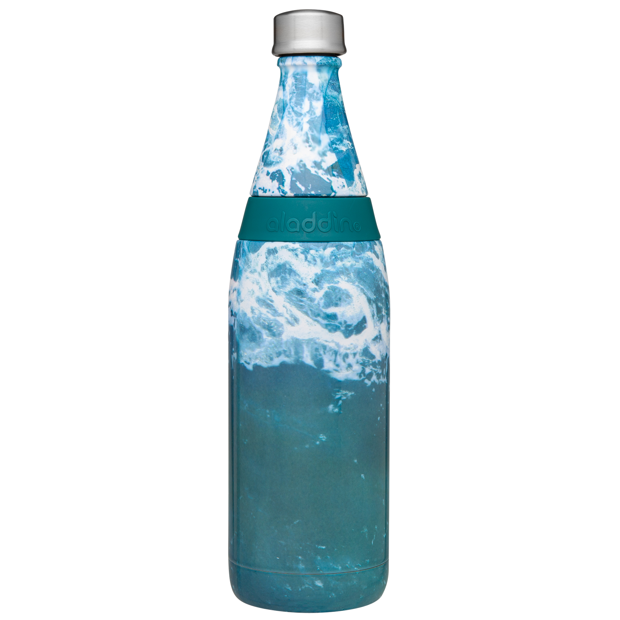Aladdin Earthscapes ™ Fresco Twist & Go Vacuum Bottle | Waves | 20 oz