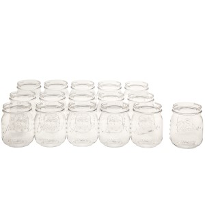 Aladdin Classic Mason Cup Pack 16oz (16 count) - Clear