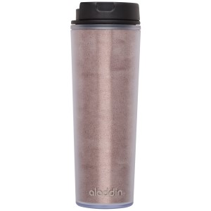 view all: Café Insulated Plastic Mug | 16 oz