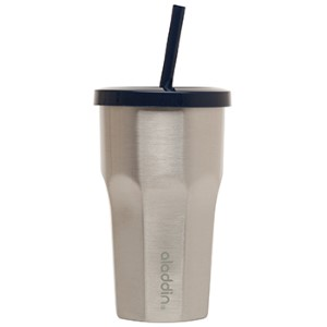 tumblers & cups: Insulated Stainless Steel To-Go Tumbler | 16 oz