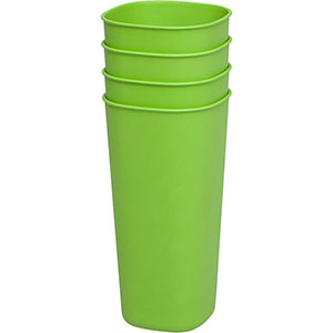 4 Recycled & Recyclable Cups <em>24oz</em>