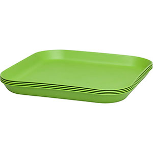 food: 4-Pack Recycled & Recyclable Plates