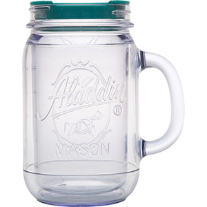 Classic Insulated Mason Jar Travel Mug | 20 oz