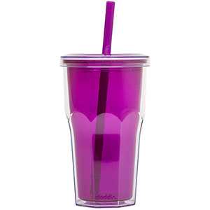 tumblers & cups: Insulated Cold To-Go Tumbler | 16 oz