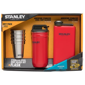 View All: Adventure Steel Shots + Flask | Gift Set