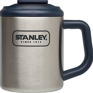 Travel Mugs: Adventure Steel Camp Mug | 12 oz