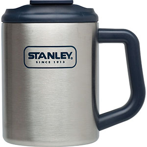 Travel Mugs: Adventure Steel Camp Mug | 16 oz