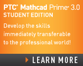 PTC Mathcad Prime 3.0 Student Edition – Perpetual License - 105.00 USD - Order Now!