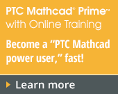 PTC Mathcad Prime 3.1 with PTC University Mathcad eLearning Library - 1,825.00 EUR - Order Now!