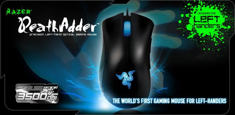 Razer DeathAdder Left Hand Mouse