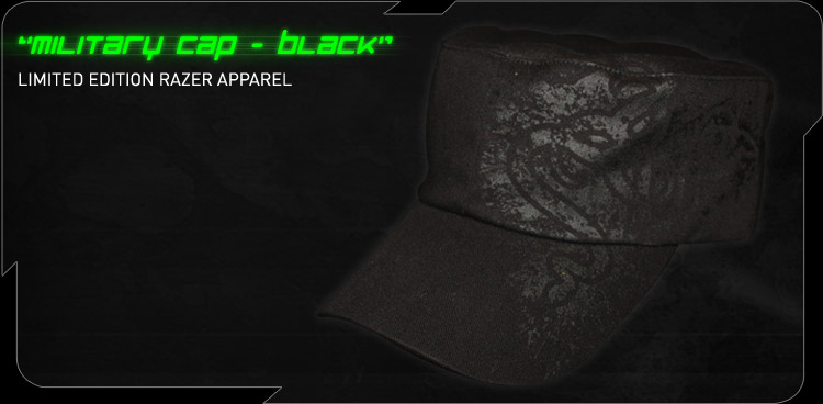 Fragged Razer Military Cap