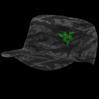 "Razer ""Black Camo Military"" Cap"