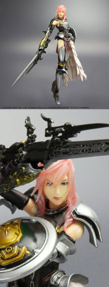 FINAL FANTASY XIII-2 PLAY ARTS -KAI- LIGHTNING [FIGURINE]
