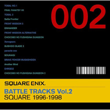 SQUARE ENIX BATTLE TRACKS VOL. 2 [CD]