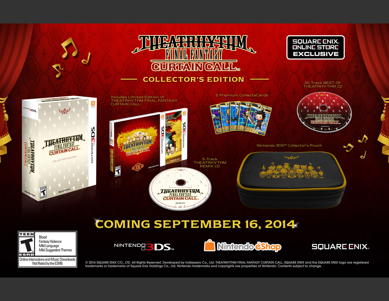 THEATRHYTHM FINAL FANTASY CURTAIN CALL COLLECTOR'S EDITION [3DS]