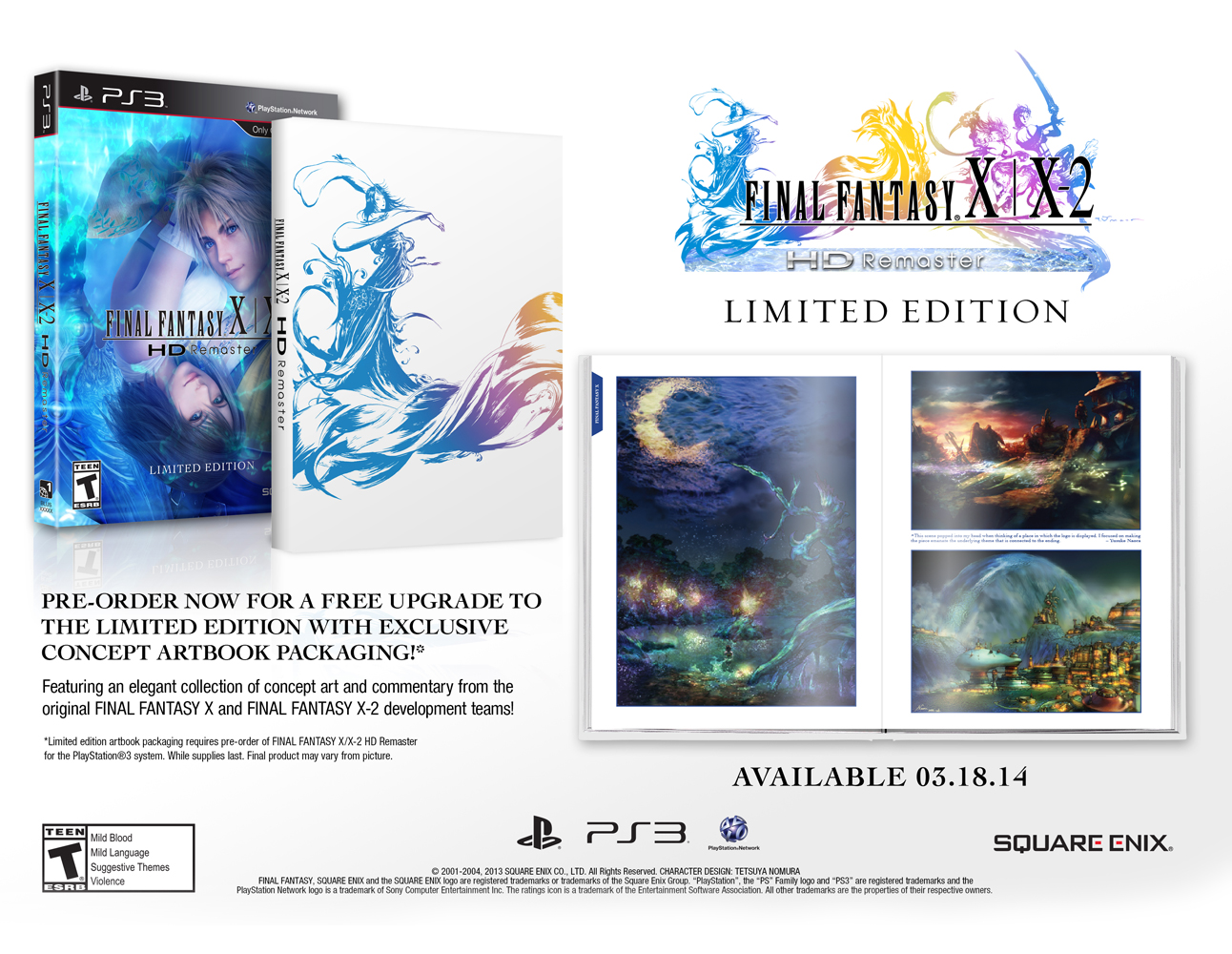 Final Fantasy X / X2 HD LIMITED EDITION [PS3]