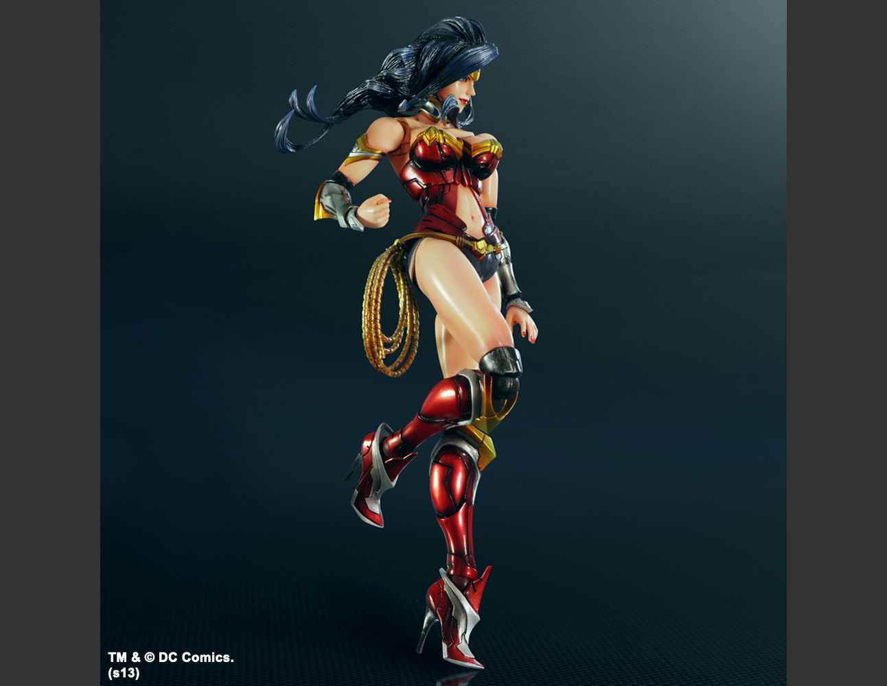 DC COMICS VARIANT PLAY ARTS -KAI- WONDER WOMAN