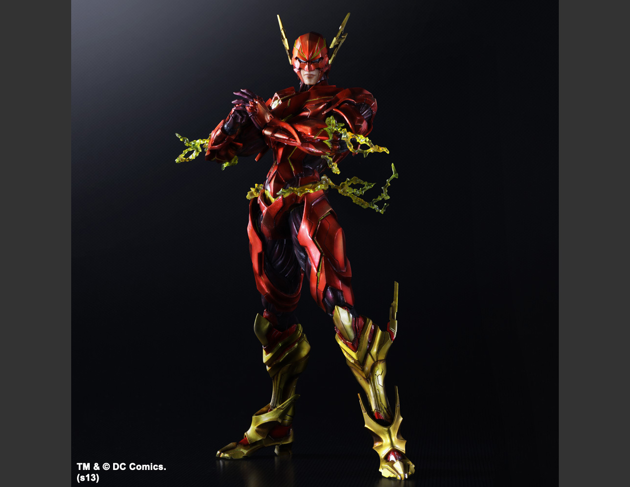 DC COMICS VARIANT PLAY ARTS KAI THE FLASH