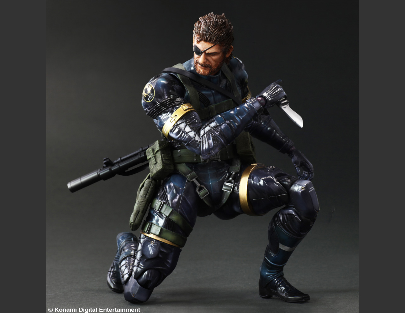 METAL GEAR SOLID V: GROUND ZEROES PLAY ARTS -KAI- SNAKE