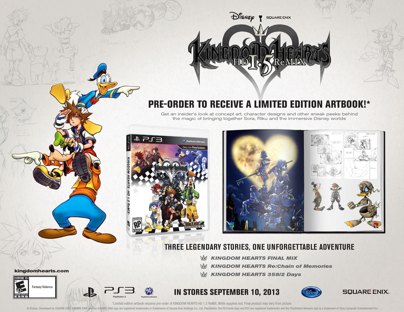 KINGDOM HEARTS HD 1.5 ReMIX Limited Edition [PS3]