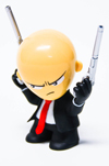 HITMAN ABSOLUTION AGENT 47 MINI FIGURINE 3