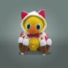 FINAL FANTASY Series Plush White Mage Chocobo [2014 Ver.]